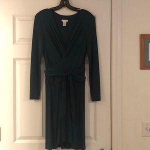 💚Beautiful!💚Deep green Cacahe' dress.